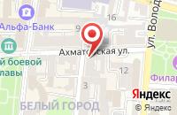 Схема проезда до компании СладKids в Астрахани