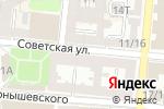 Схема проезда до компании Управление по строительству, архитектуре и градостроительству Администрации г. Астрахани в Астрахани