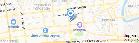 Магазин торгового оборудования на карте Астрахани