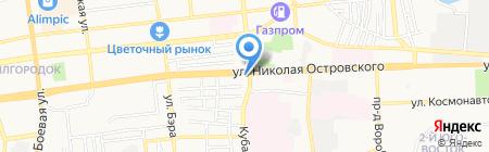 Гардиан на карте Астрахани