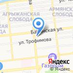 Авто Ресурс на карте Астрахани