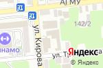 Схема проезда до компании GT Service в Астрахани