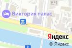 Схема проезда до компании Центр повышения квалификации и профессиональной переподготовки в Астрахани