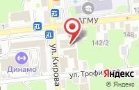 Схема проезда до компании Ростэксперт в Астрахани