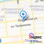 Lash Club на карте Астрахани