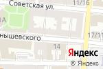 Схема проезда до компании men`s lair в Астрахани