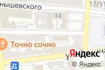 Схема проезда до компании Саратовское областное БТИ и оценки недвижимости в Астрахани
