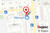 Схема проезда до компании Кубанский в Астрахани