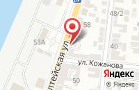 Схема проезда до компании Смокинг в Астрахани