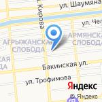 Клиника дентальной имплантологии на карте Астрахани