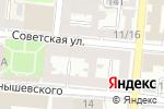 Схема проезда до компании Мирта в Астрахани