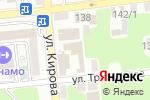 Схема проезда до компании Авто Ресурс в Астрахани