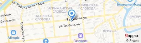 Элит-Тур на карте Астрахани