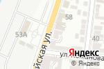 Схема проезда до компании Интеллект-Сервис в Астрахани