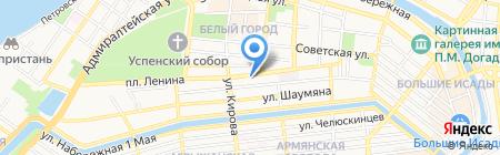 БАНКЪ БИЛЕТОВ на карте Астрахани