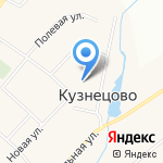 Кузнецовский культурно-досуговый центр на карте Йошкар-Олы