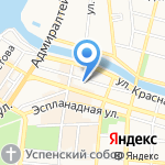 Управление экономической безопасности и противодействию коррупции на карте Астрахани