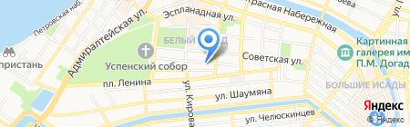 Полиграфический салон на карте Астрахани