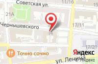 Схема проезда до компании Лесная в Астрахани