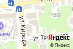 Схема проезда до компании Архангел в Астрахани