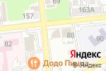 Схема проезда до компании Центр кластерного развития в Астрахани