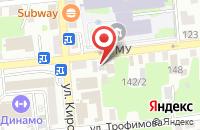 Схема проезда до компании ДАЙМЭКС-Астрахань в Астрахани