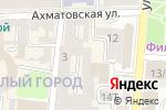 Схема проезда до компании ЖилБэст в Астрахани