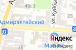 Схема проезда до компании У тещи в Астрахани