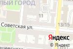 Схема проезда до компании Мелодия в Астрахани