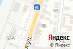 Схема проезда до компании Interfino в Астрахани