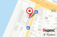Схема проезда до компании Хищник в Астрахани