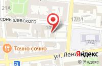 Схема проезда до компании Фемида в Астрахани