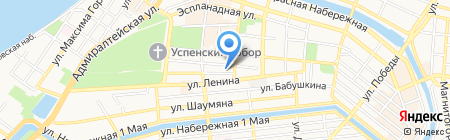 Солидарность на карте Астрахани