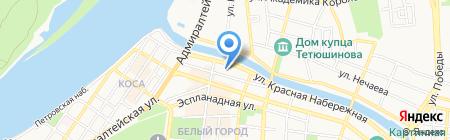 Паспортно-визовый сервис на карте Астрахани