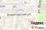Схема проезда до компании Мистер Кейк в Астрахани