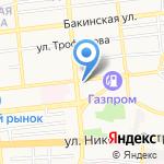 Центр кластерного развития на карте Астрахани