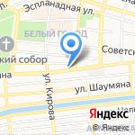 Южный Свет на карте Астрахани