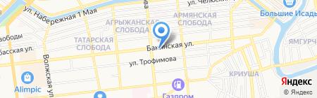 ДАЙМЭКС на карте Астрахани