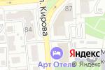 Схема проезда до компании КБ Росэнергобанк в Астрахани