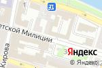 Схема проезда до компании У Валентины в Астрахани