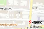 Схема проезда до компании Экостандарт в Астрахани