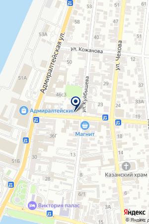 ВЕРСИЯ-ТН МФ на карте Астрахани