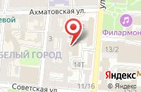 Схема проезда до компании ЭрДжиБи в Астрахани