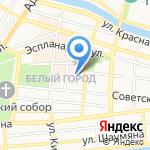 Цифровой на карте Астрахани