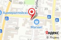 Схема проезда до компании Технологии чистоты в Астрахани