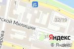 Схема проезда до компании Служба экстренного вскрытия замков в Астрахани