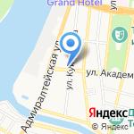 Юг-Строй на карте Астрахани
