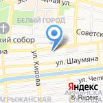 А-Форвард на карте Астрахани