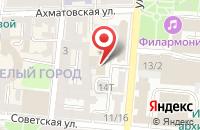 Схема проезда до компании Логос в Астрахани