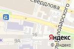 Схема проезда до компании Мастер-сервис в Астрахани